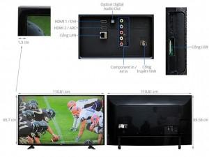 Smart TV LED LG 49UF640T