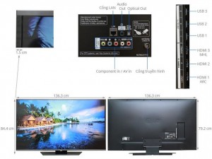 Smart TV LED LG 60LF623T -3