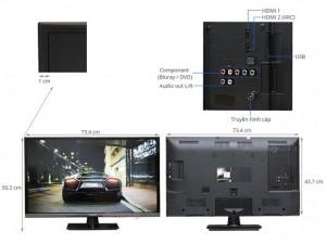 Mặt sau TV LED Panasonic TH-32A420V