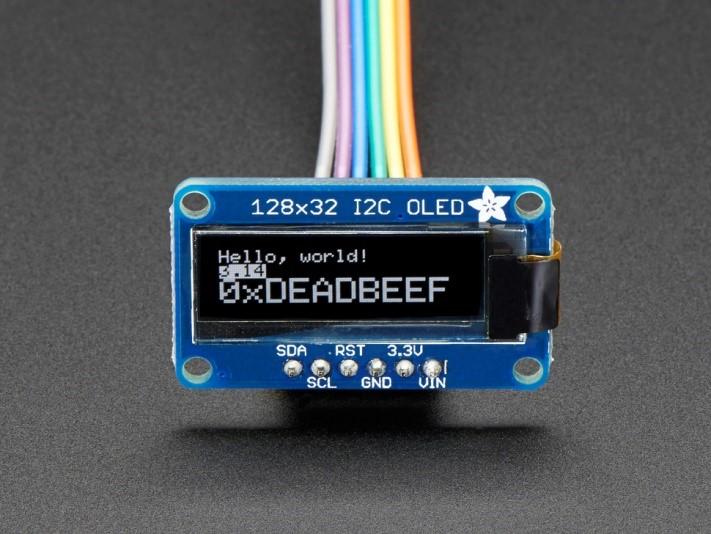 Monochrome 128x32 I2C 1