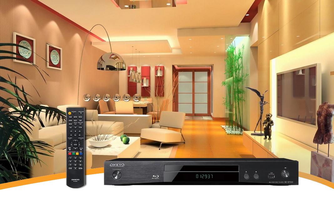Dau Blu-ray Onkyo BD-SP353