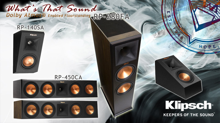Dong loa Klipsch Dolby Atmos hay