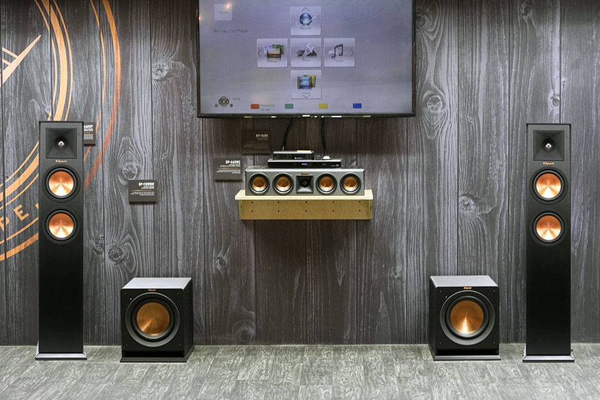 Dong loa Klipsch Home Theater System