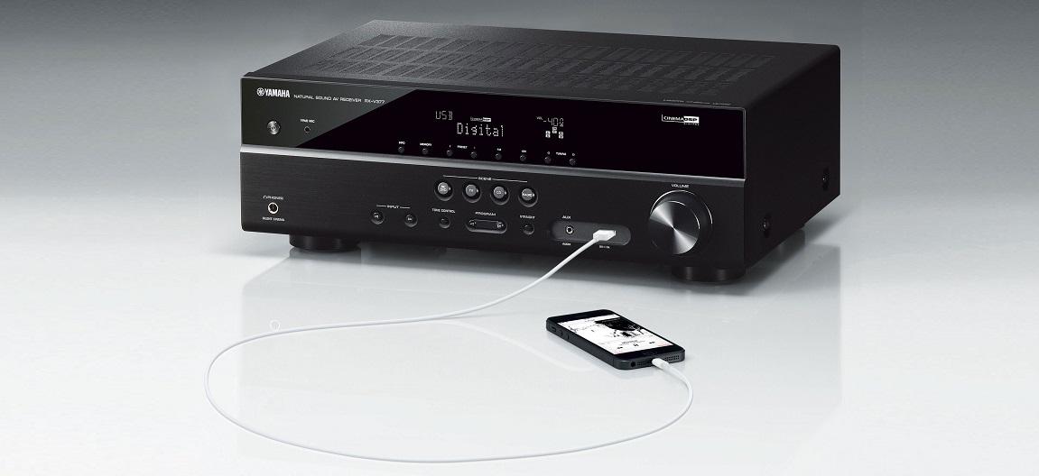 dong ampli xem phim Yamaha RX-V Series chat luong