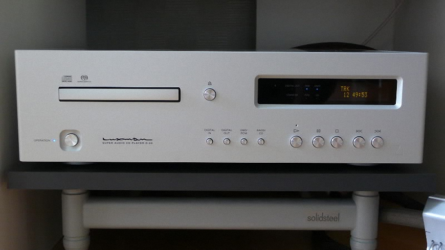 dau SACD/CD Luxman D-06 tot