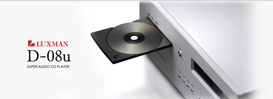 dau SACD/CD Luxman D-08U tot