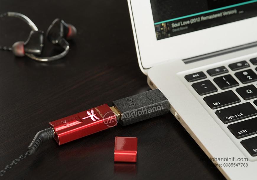 Bo giai ma AudioQuest DragonFly USB DAC hien dai