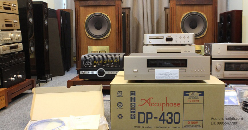 dau CD Accuphase DP-430 dep