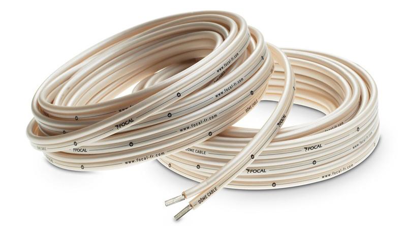 Focal dome jeu 2 cables de 4m