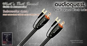 dong day tin hieu AudioQuest Subwoofer Cables