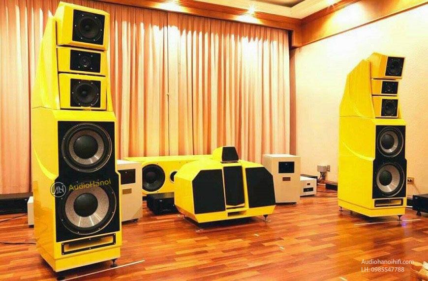 phoi ghep Power ampli Goldmund Telos 3500+