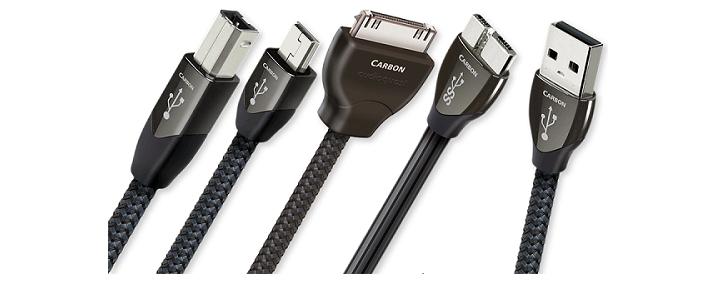 day tin hieu USB AudioQuest Carbon