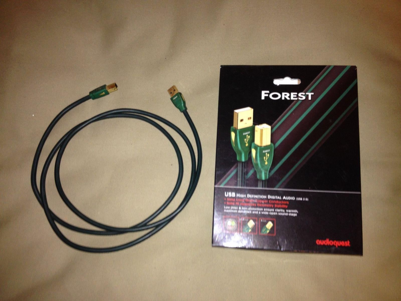 day tin hieu USB AudioQuest Forest dep