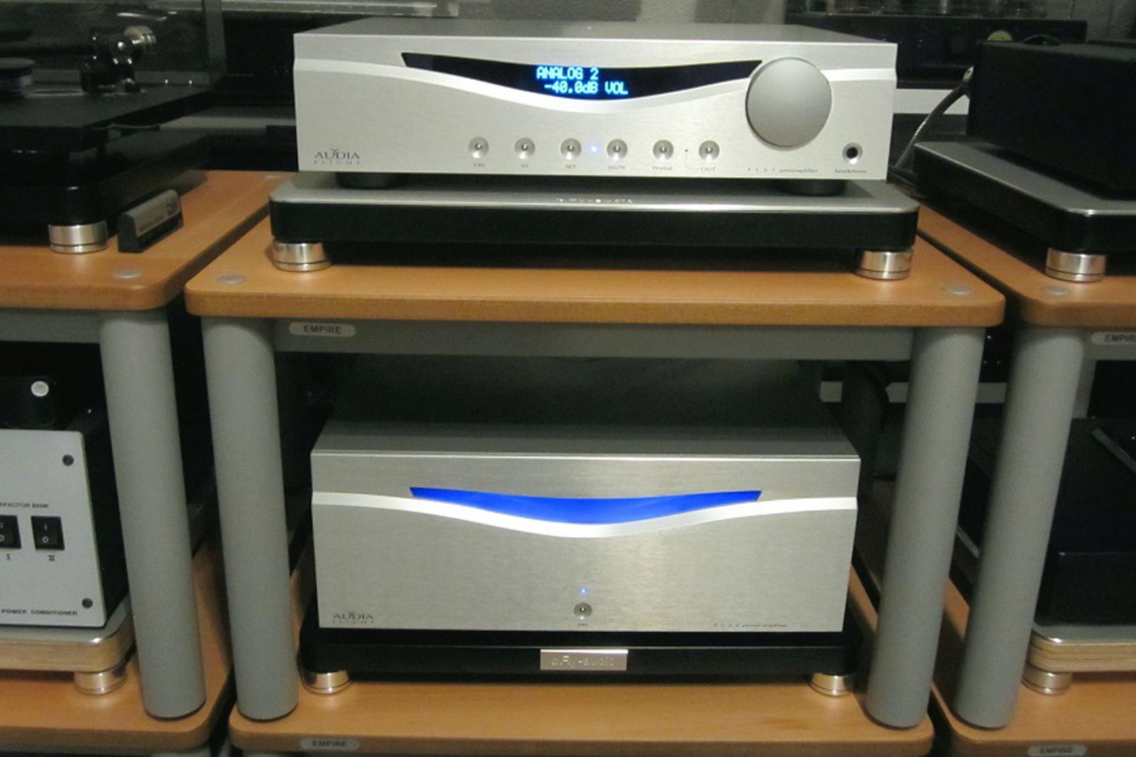 stereo Power ampli Audia Flight FLS4 dep