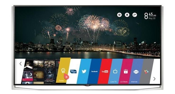 Smart TV 3D LED LG 84UB980T 84 inch hay