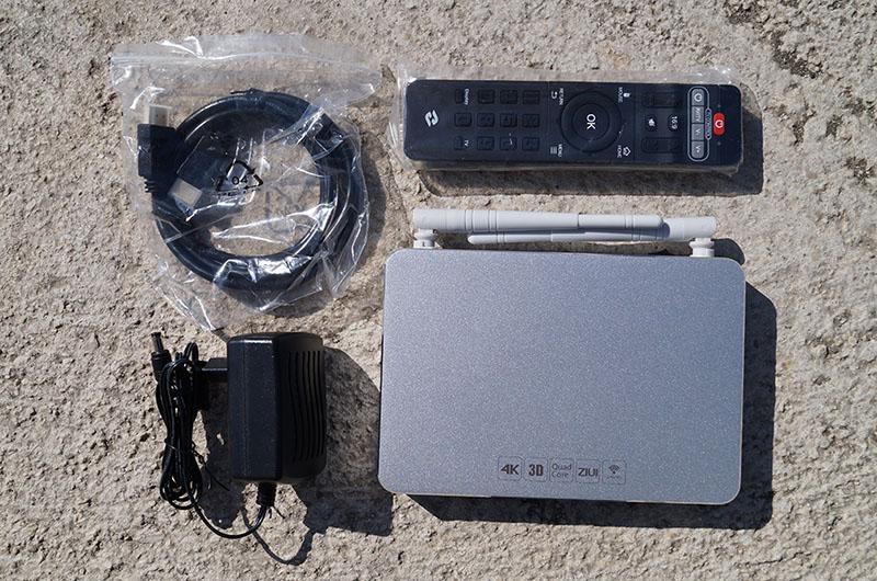 Androi TV Box Ziddo X9 hay