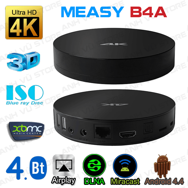 Android TV Box Measy B4A tot