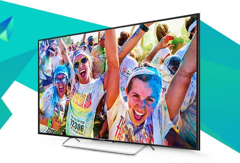 Internet TV LED Sony 48W700C 48 inch dep