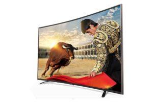 Smart TV LED Curved TLC L55H8800 55 inch dep