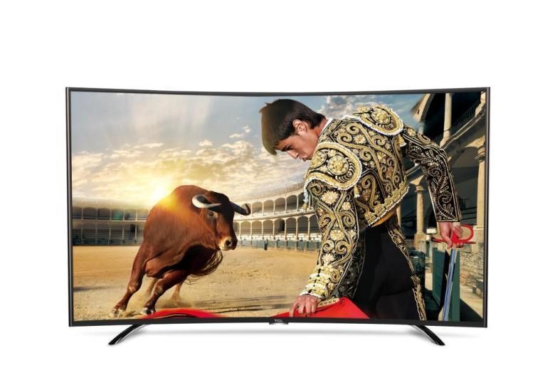 Smart TV LED Curved TLC L55H8800 55 inch