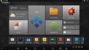 TV Box Android Zidoo chat