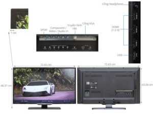 TV LED Philips 32PHT5109S chat
